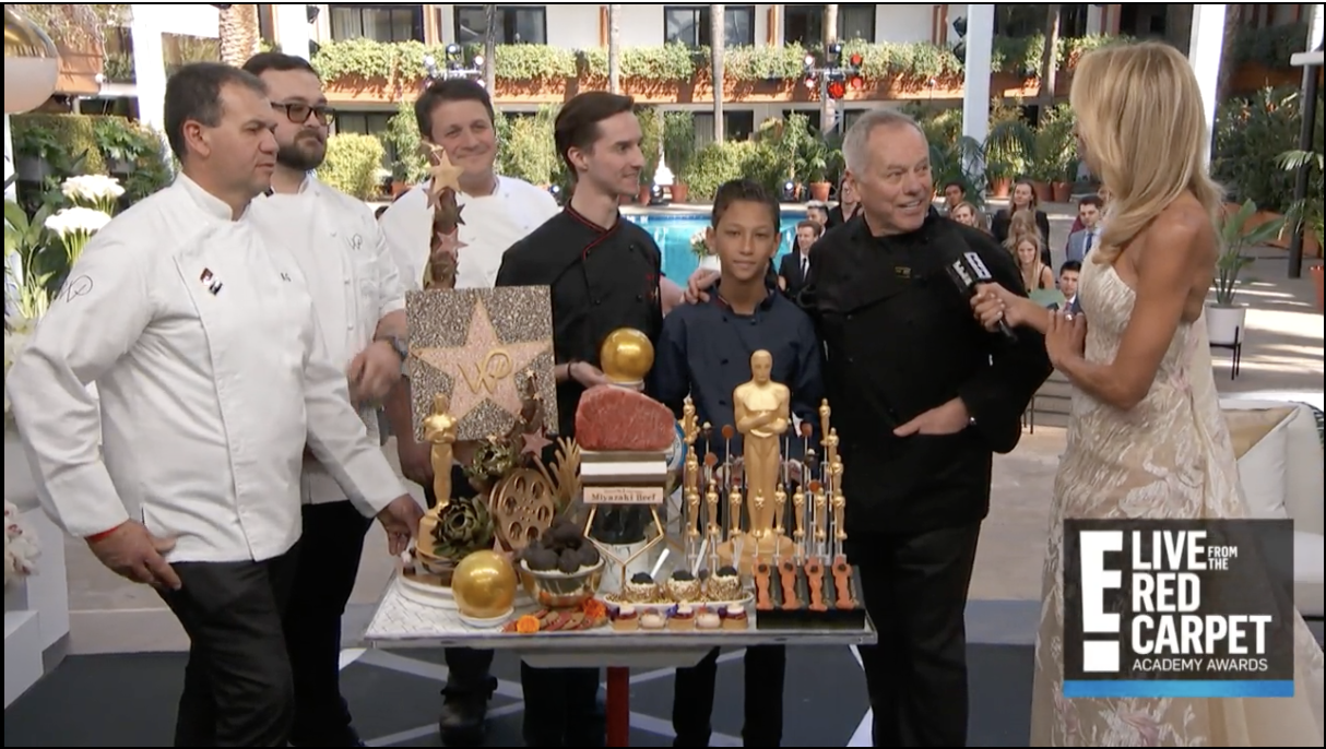 VIDEO: Wolfgang Puck Showcases 2018 Oscars Dessert Menu