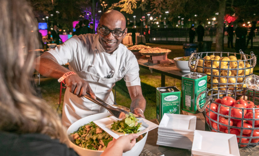 How Wolfgang Puck Catering Pulled Off an Experience for 12,000 Guests in One Night