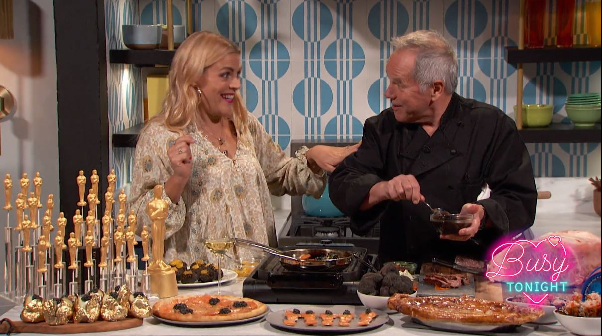 VIDEO: Wolfgang Puck Joins Busy Philipps on E!