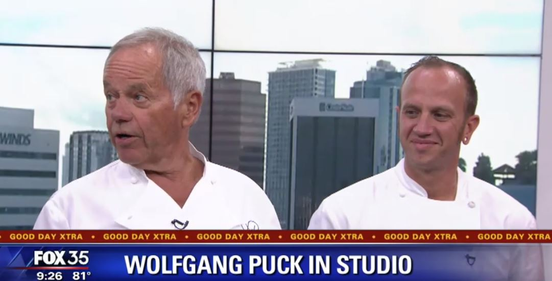 Wolfgang Puck Stops by FOX 35 Orlando