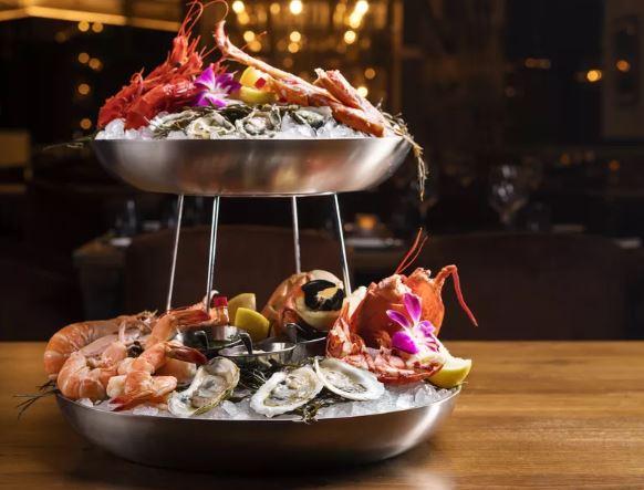 CUT Las Vegas' Seafood Tower