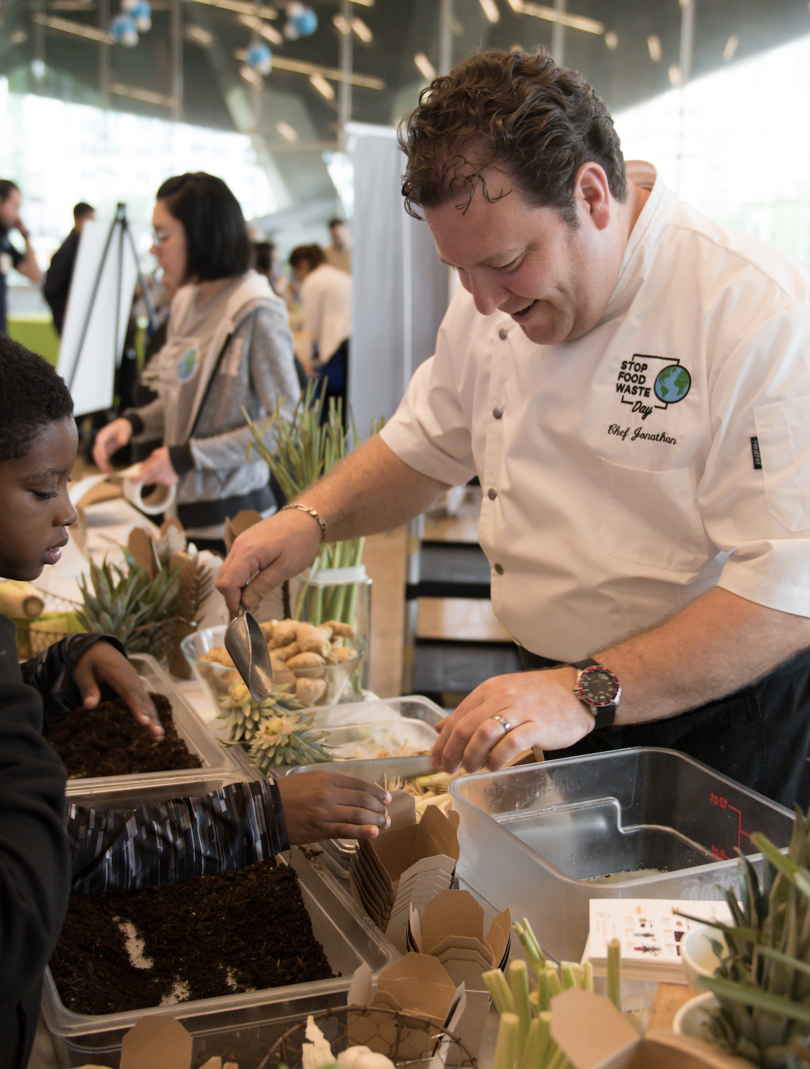 Perot Museum Scraps Food Waste